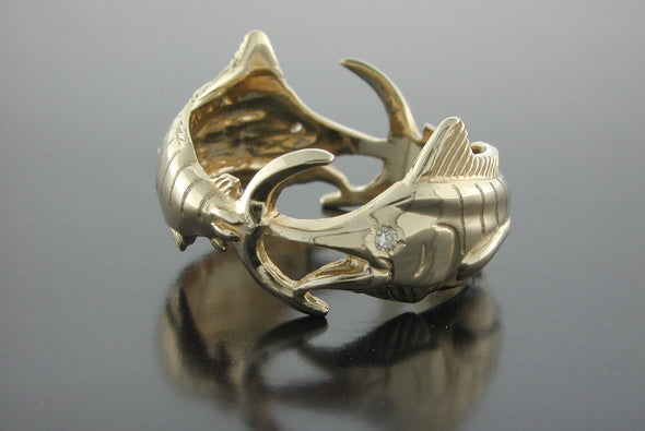 Double Marlin Ring