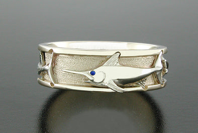 Grand Slam Ring (Swordfish Shown)