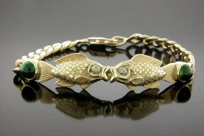 Kissing Fish Bracelet