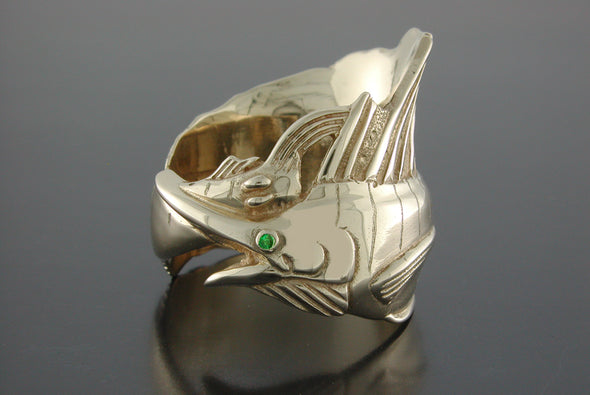 Large Sailfish Wrap Ring