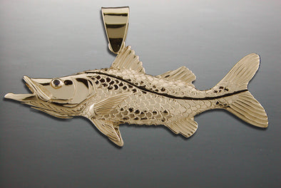 Large Snook Pendant