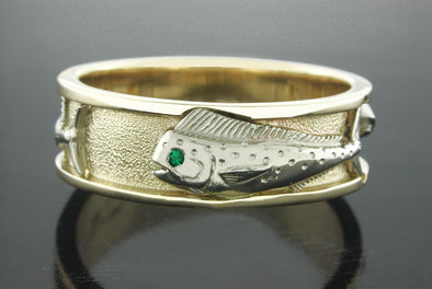 Grand Slam Ring (Mahi Dolphin Shown)