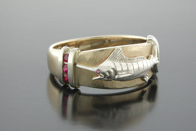 Marlin Ruby Platform Ring