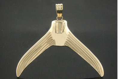 Medium Marlin Tail Pendant