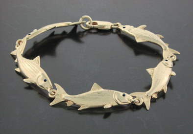 Multi Bonefish Bracelet