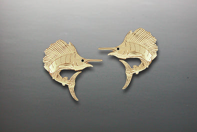 Sailfish Earrings