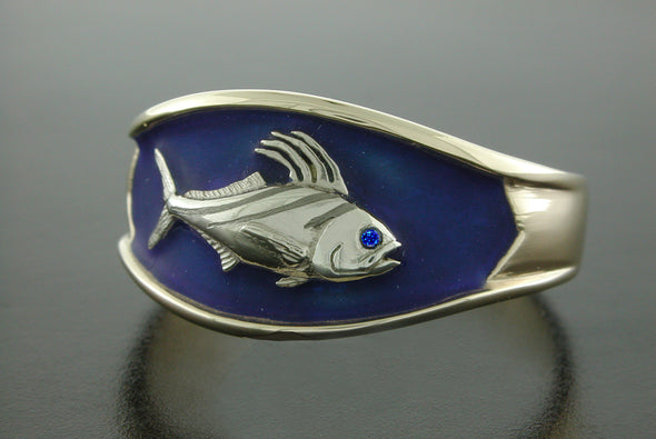 Single Fish Ring (Rooster Fish Shown)
