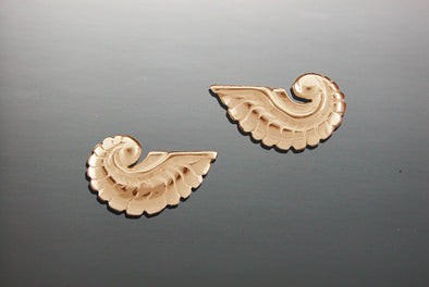 Small Nautilus Earrings