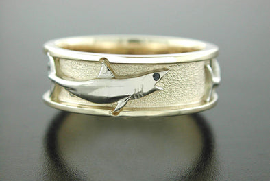 Grand Slam Ring (Mako Shark Shown)