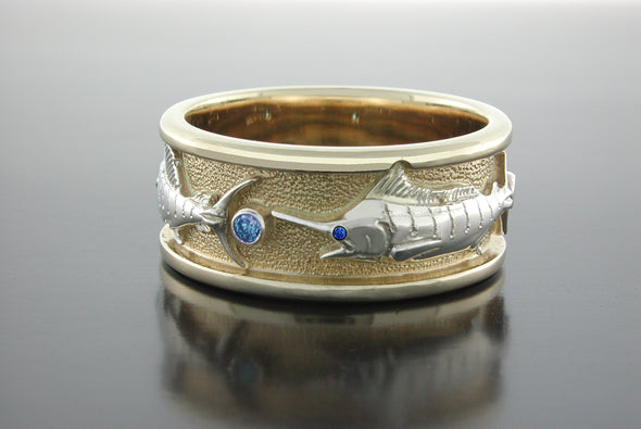 Grand Slam Ring (Blue Marlin Shown)