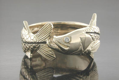 Single Snook Wrap Ring