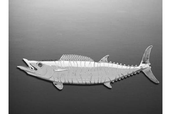 Silver Large Wahoo Pendant