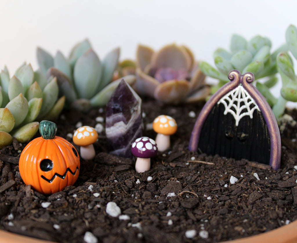 Halloween Fairy Garden Kit