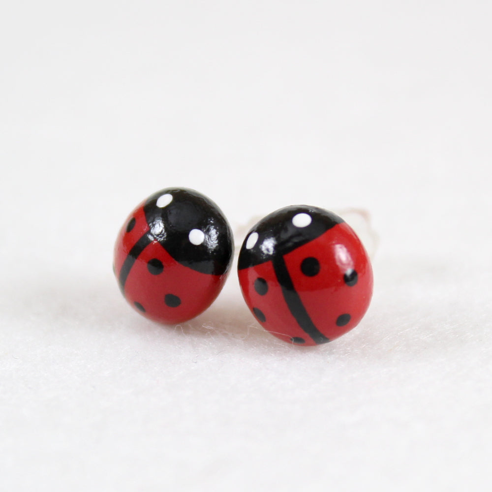 Ladybug Earrings