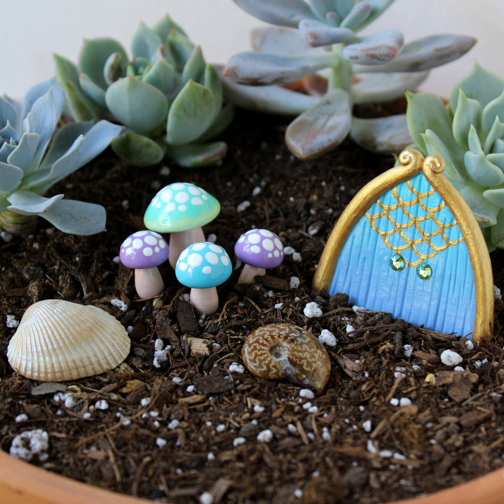 Mermaid Fairy Garden Kit
