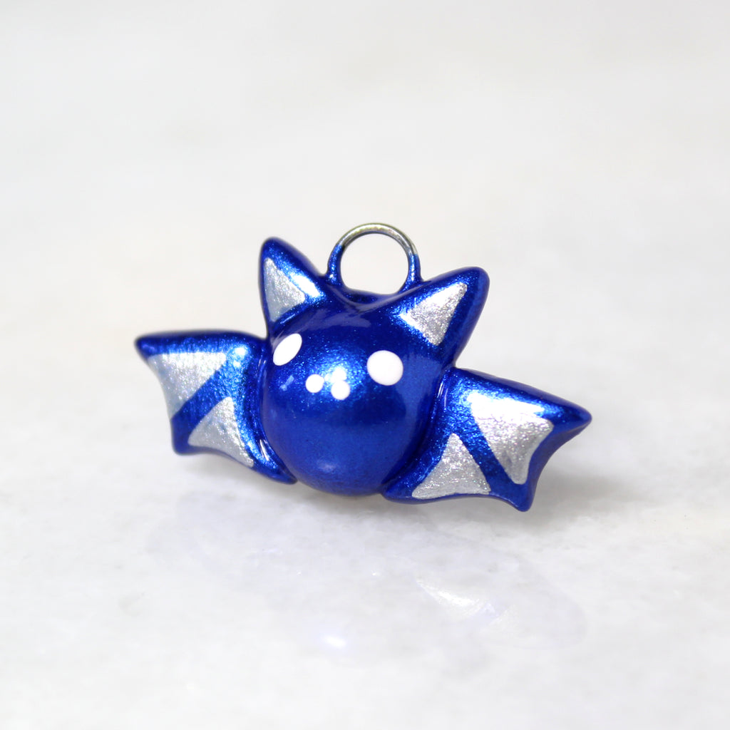 Midnight Blue Bat Charm