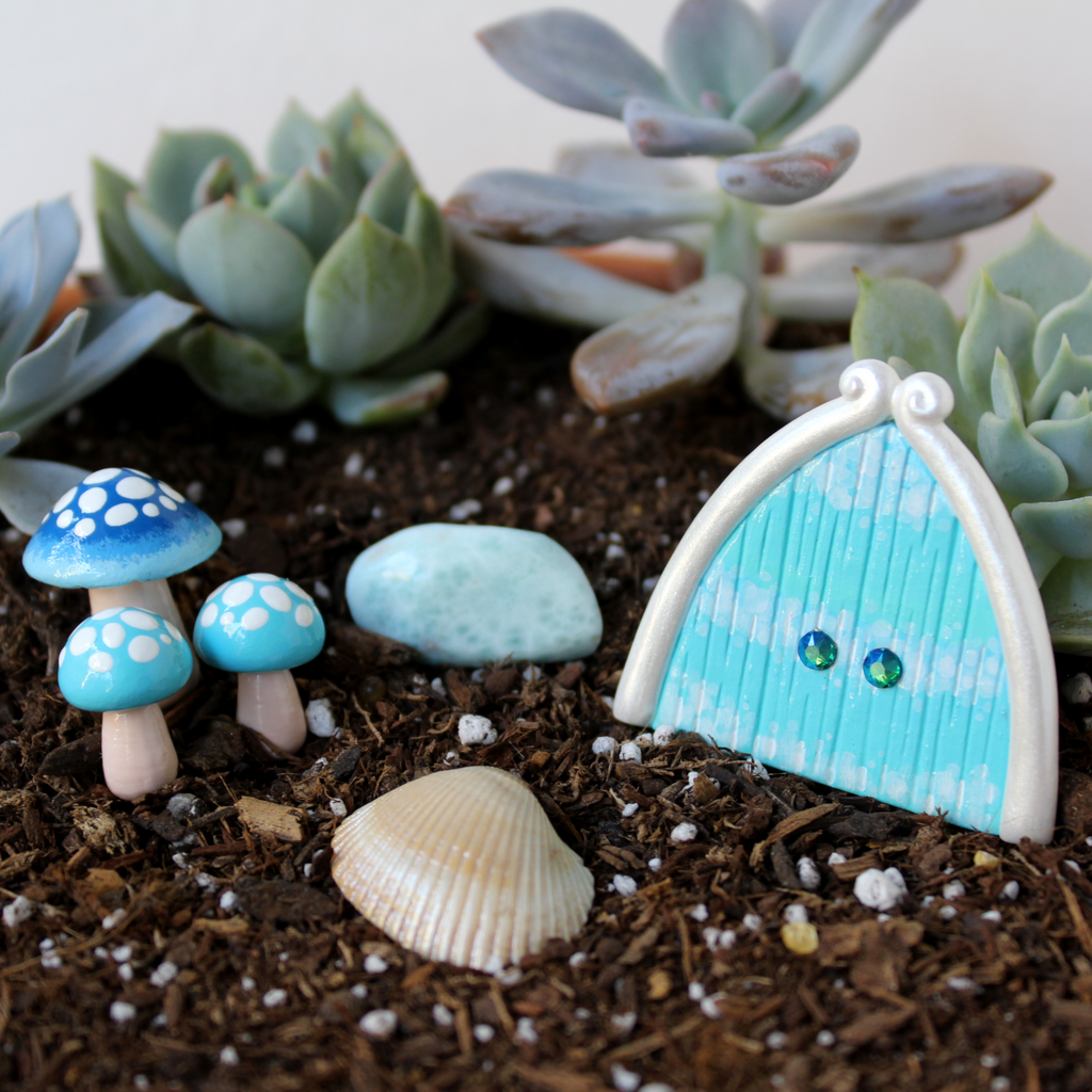 Ocean Waves Fairy Garden Kit