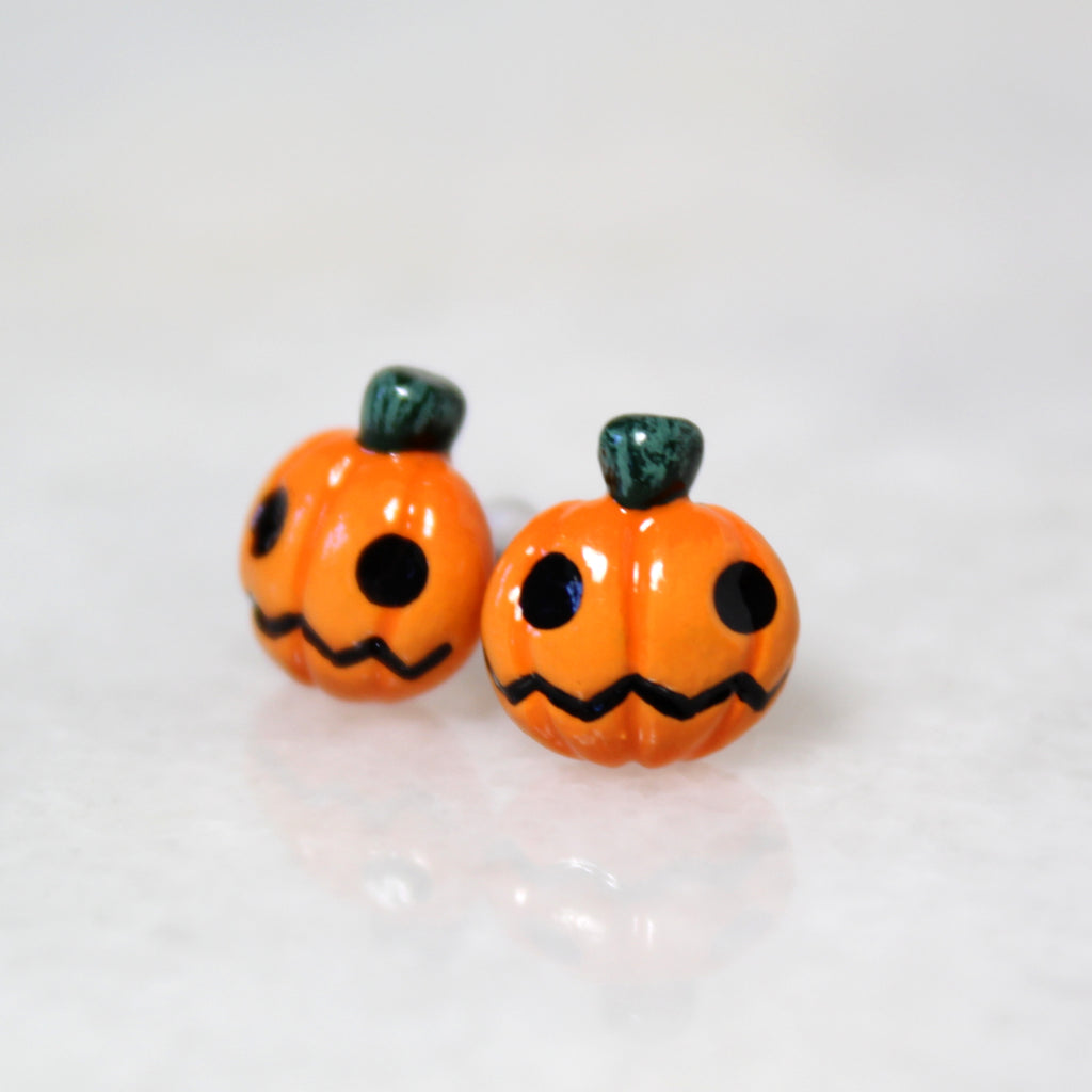 Jack o' Lantern Earrings