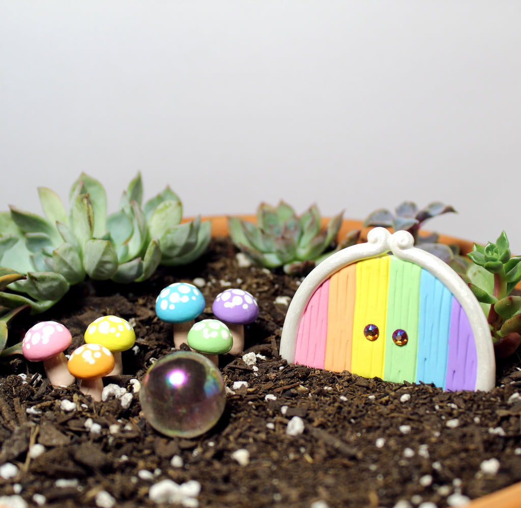 Rainbow Fairy Garden Kit