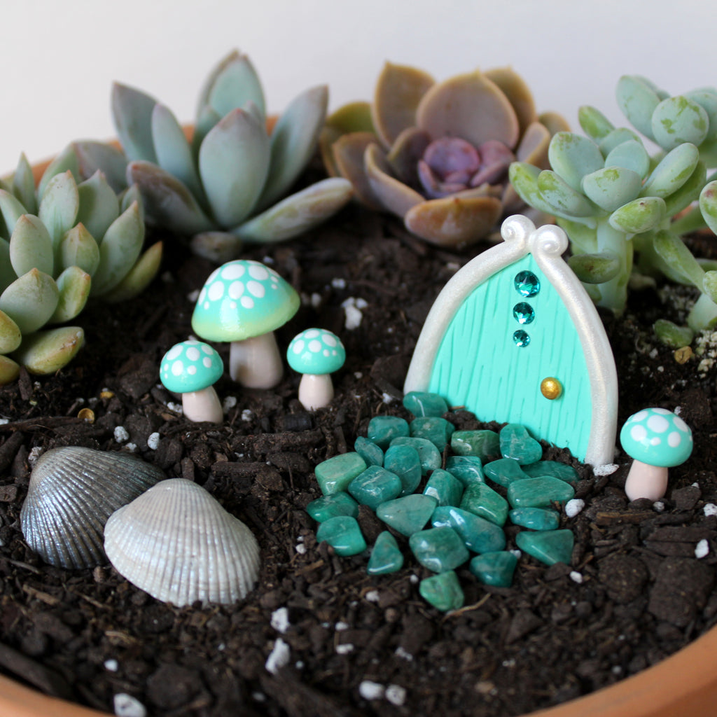 Seafoam Fairy Garden Kit