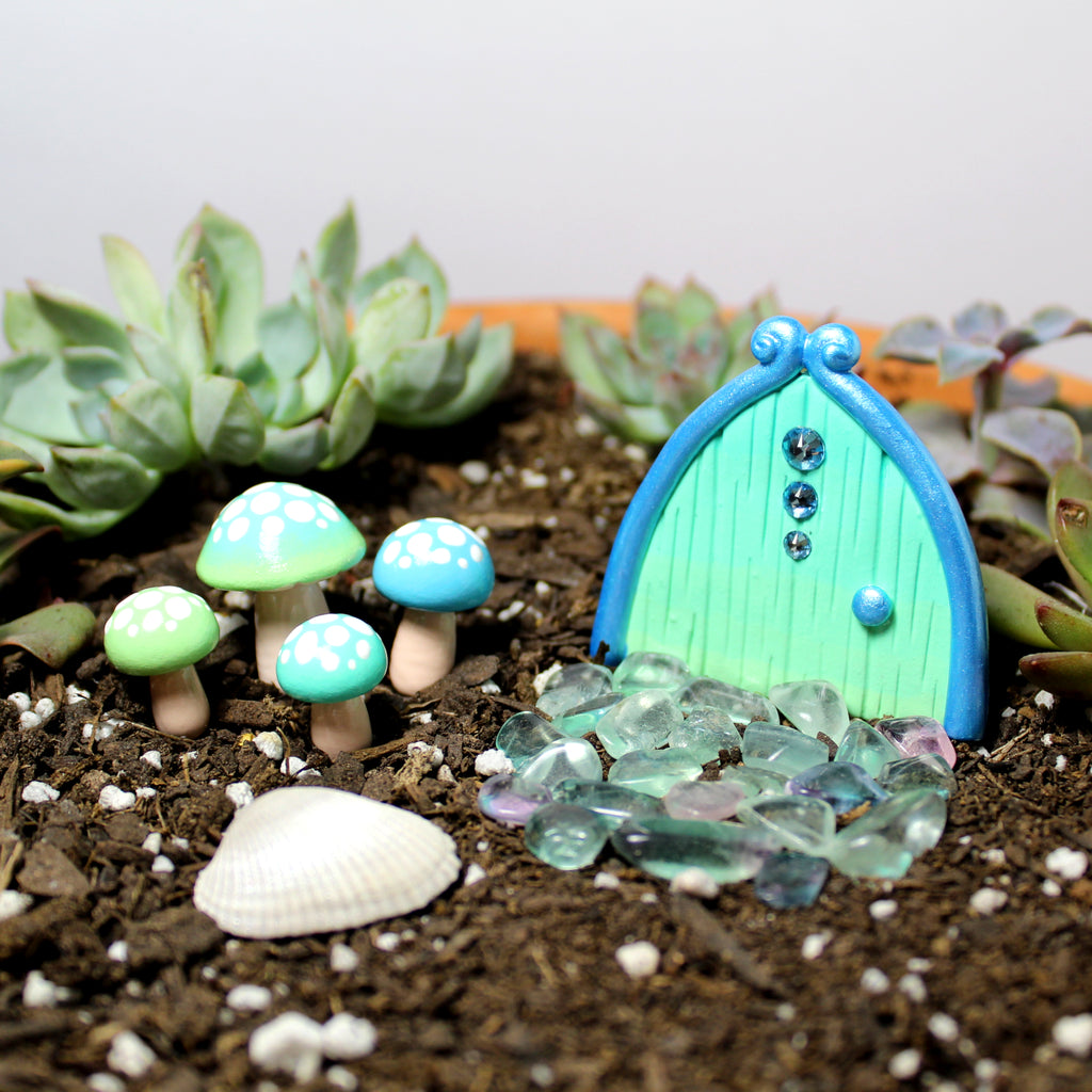 Seaglass Fairy Garden Kit