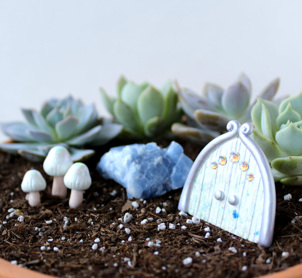 Sugar Crystal Fairy Garden Kit