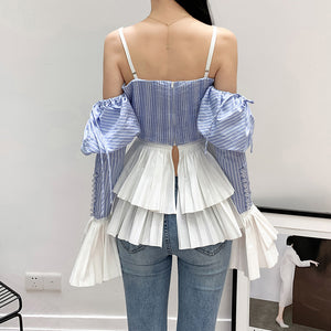 Off Shoulder Puff Sleeve Top - Available in Three Colors