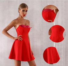 Load image into Gallery viewer, Vamp Bustier Dress