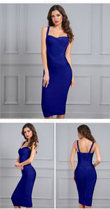 Sweetheart Bodycon Midi - Available in Four Colors