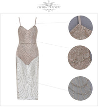 Load image into Gallery viewer, Sexy Sequined Bandage Dress