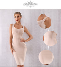Load image into Gallery viewer, Classic Cross Top Bandage Dress - Available in Seven Colors
