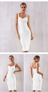 Classic Cross Top Bandage Dress - Available in Seven Colors