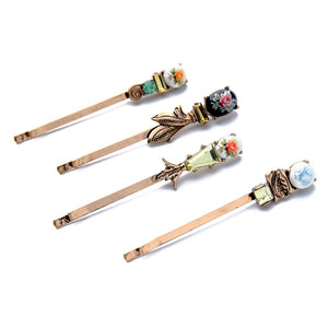 4 Piece Hair Pin Set