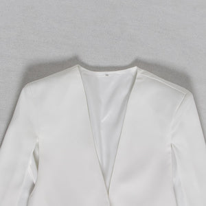 Side Split Blazer - Two Colors Available