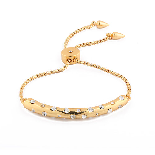 Adjustable Speckled Bracelet - Available in GOLD + SILVER