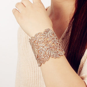 BEST SELLER!!! Chantilly Cuff - Available in SILVER + GOLD