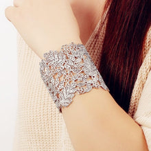 Load image into Gallery viewer, BEST SELLER!!! Chantilly Cuff - Available in SILVER + GOLD