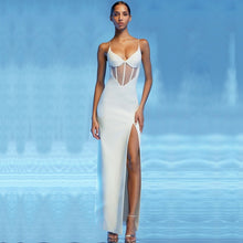 Load image into Gallery viewer, White Mesh Gown
