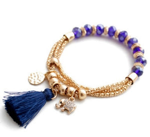 Best Seller - Lucky Elephant Bracelet - Available in Two Colors