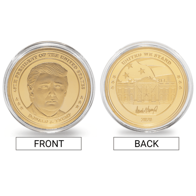 Donald Trump Collector's Coin Set
