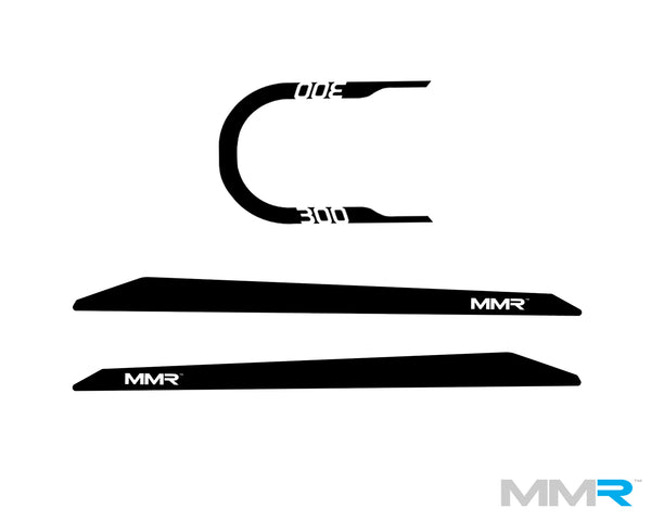 MMR 'M300' MINI F56 DECALS - MMR Performance