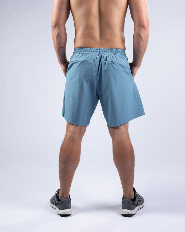 Demo Shorts Unlined - Slate Blue