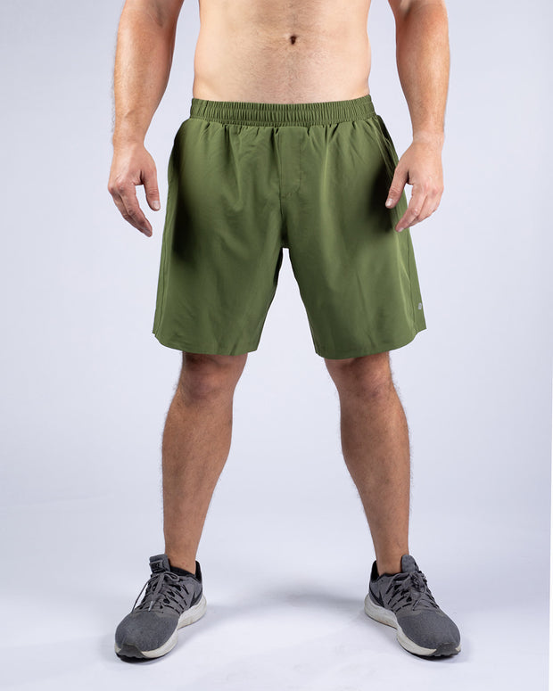Demo Shorts Unlined - Dark Olive