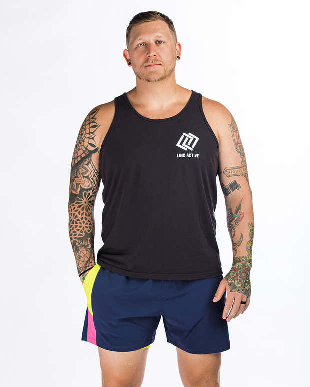 """Time Off Shorts 7"""" - Navy 1"""