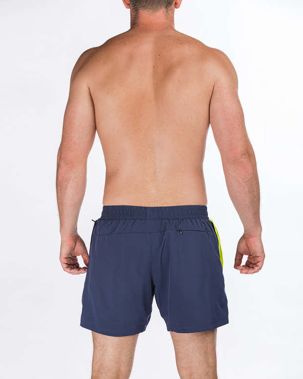 """Time Off Shorts 5.5"""" - Navy 1"""