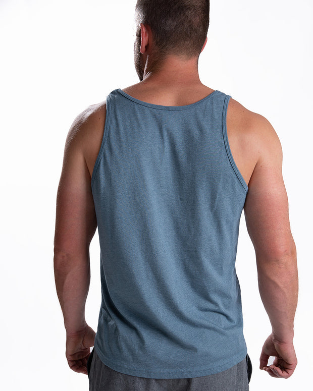 Men's Better Every Day Tank - Heather Slate