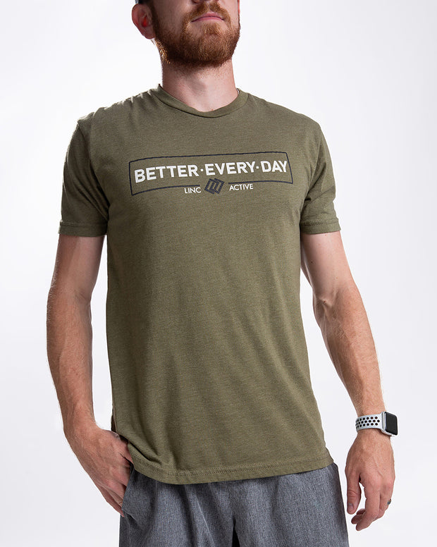 Better Every Day Tee - Green