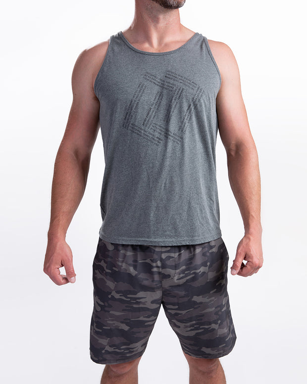 Men's Empowered Tank - Deep Heather