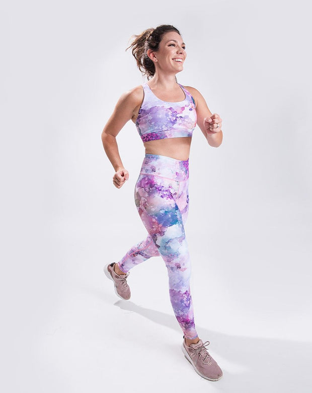 On The Move Legging - Blossom