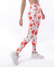 Energize II Legging - Red Floral